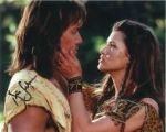 Kevin Sorbo & Sam Jenkins - Genuine Singed Autograph 7773